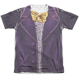 Willy Wonka And The Chocolate Factory- Wonka Costume Tee T-shirts