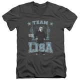 Ice Road Truckers- Team Lisa V-Neck T-shirts