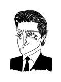 Bradley Cooper - Cartoon Premium Giclee Print by Tom Bachtell