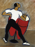 Red Congas Giclee Print by Marsha Hammel