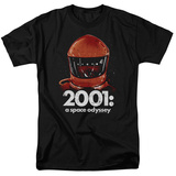 2001 A Space Odyssey/Red Space Helmet T-shirts
