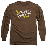 Long Sleeve: Willy Wonka And The Chocolate Factory/Wonka Logo Long Sleeves