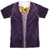 Willy Wonka And The Chocolate Factory- Wonka Costume Tee Sublimated