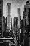Towering New York Giclee Print by Pete Kelly