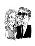 Levy & O'Hara - Cartoon Regular Giclee Print by Tom Bachtell