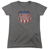 Womens: American Pickers- Vintage Logo Shield T-shirts