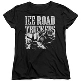 Womens: Ice Road Truckers- Break The Ice T-shirts