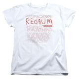 Womens: The Shining/Redrum Scrawl T-shirts