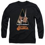 Long Sleeve: A Clockwork Orange/Poster Art T-Shirt