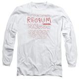 Long Sleeve: The Shining/Redrum Scrawl Long Sleeves