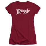 Juniors: Harry Potter- Muggle Badge (Premium) T-shirts