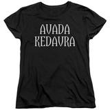 Womens: Harry Potter- Avada Kedavra Shirts