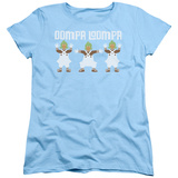 Womens: Willy Wonka And The Chocolate Factory/Oompa Loompa Dance T-shirts