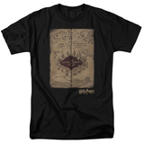 Harry Potter- Marauder's Map Hogwarts T-Shirt