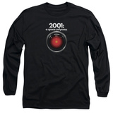 Long Sleeve: 2001 A Space Odyssey/Hal 9000 Long Sleeves
