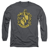 Long Sleeve: Harry Potter- Hufflepuff Crest Long Sleeves