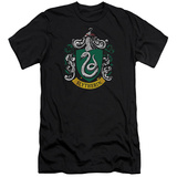 Harry Potter- Slytherin Crest (Premium) T-shirts