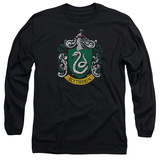 Long Sleeve: Harry Potter- Slytherin Crest Long Sleeves
