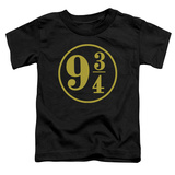 Toddler: Harry Potter- 9 3- 4 Emblem T-shirts