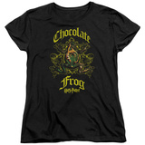 Womens: Harry Potter- Chocolate Frog Crest T-shirts