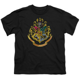 Youth: Harry Potter- Hogwarts Crest T-shirts