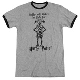 Harry Potter- Dobby Will Always Be There Ringer T-shirts