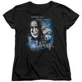 Womens: Harry Potter- After All This Time - Always T-shirts