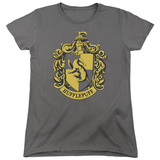 Womens: Harry Potter- Hufflepuff Crest T-shirts