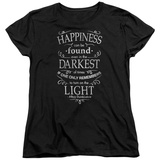 Womens: Harry Potter- Happiness Can Be Found In Darkness Shirts