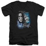 Harry Potter- After All This Time - Always V-Neck Shirts