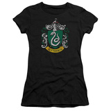 Juniors: Harry Potter- Slytherin Crest T-shirts