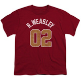 Youth: Harry Potter- Weasley 02 Distressed Shirts