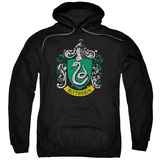 Hoodie: Harry Potter- Slytherin Crest Pullover Hoodie
