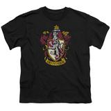 Youth: Harry Potter- Gryffindor Crest Shirt
