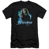 Harry Potter- Hermione Wand Ready Slim Fit Shirts