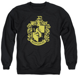 Crewneck Sweatshirt: Harry Potter- Hufflepuff Crest T-shirts