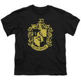 Youth: Harry Potter- Hufflepuff Crest T-Shirt