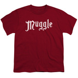 Youth: Harry Potter- Muggle Badge Shirts
