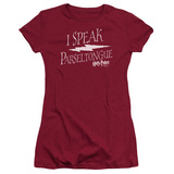 Juniors: Harry Potter- I Speak Parseltongue T-shirts