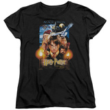 Womans: Harry Potter- Sorcerers Stone Poster T-shirts