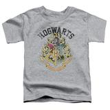 Toddler: Harry Potter- Hogwarts Distressed Crest T-shirts