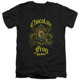Harry Potter- Chocolate Frog Crest V-Neck V-Necks