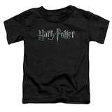 Toddler: Harry Potter- Monochrome Logo Shirt