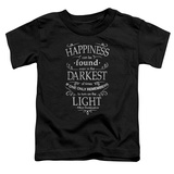 Toddler: Harry Potter- Happiness Can Be Found In Darkness Shirt
