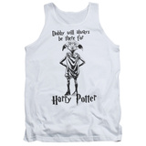 Tank Top: Harry Potter- Dobby Will Always Be There Tank Top
