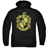 Hoodie: Harry Potter- Hufflepuff Crest Pullover Hoodie