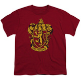 Youth: Harry Potter- Gryffindor Crest T-Shirt