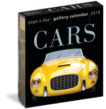 Cars Page-A-Day Gallery - 2018 Boxed Calendar Calendriers