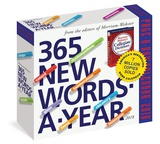 365 New Words-A-Year Page-A-Day - 2018 Boxed Calendar Kalenders