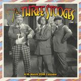 The Three Stooges - 2018 Calendar Kalenders